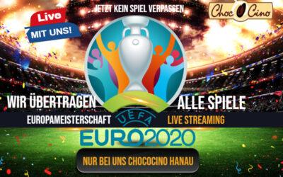 Europameisterschaft jetzt LIVE in Chococino